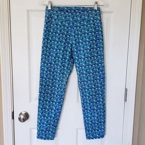 Soft Surroundings Flower Print Cropped Pants